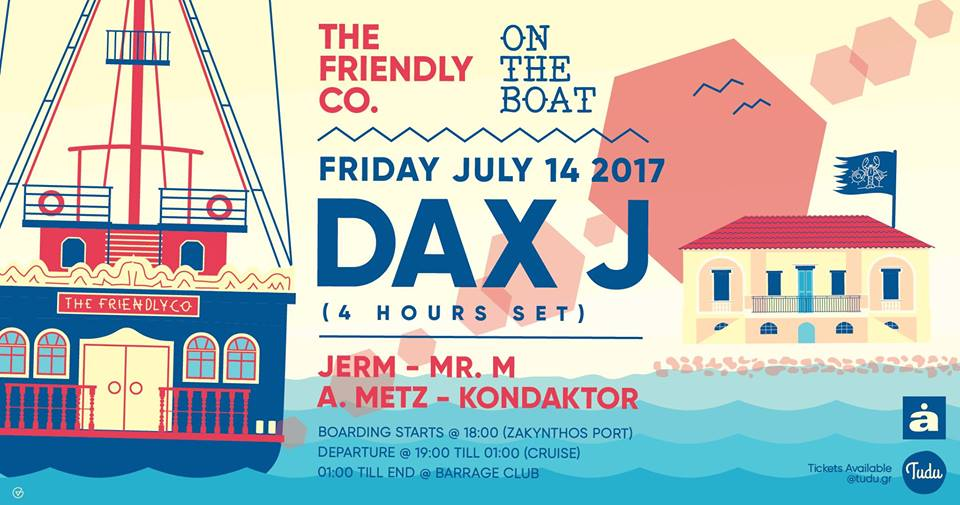The Friendly CO w/ Dax J, A.Metz, Jerm, Mr.M & Kondaktor